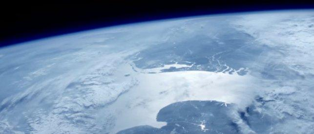Ultra-HD video of earth from space