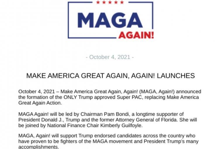 Make America Great Again, Again