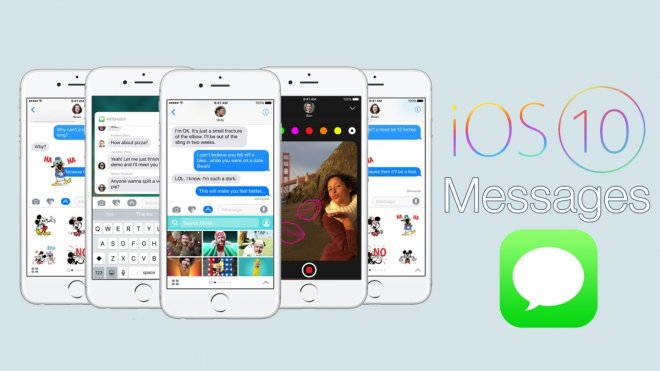 iOS 10 Messages app