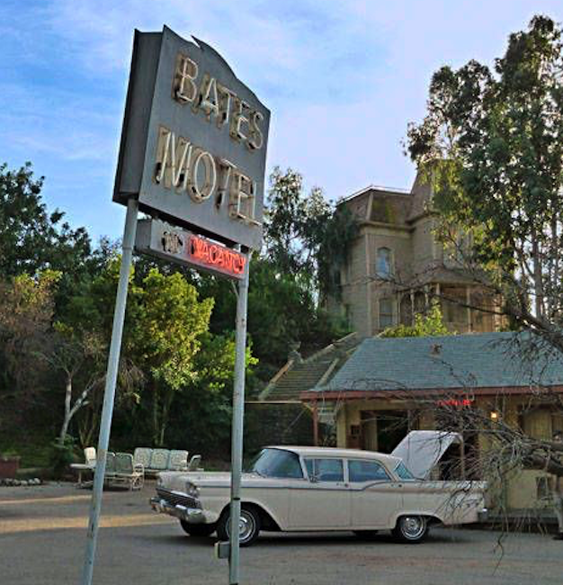Universal Studios Bates Motel set