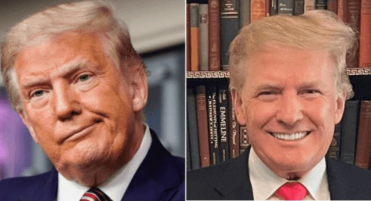 Donald Trump weight loss