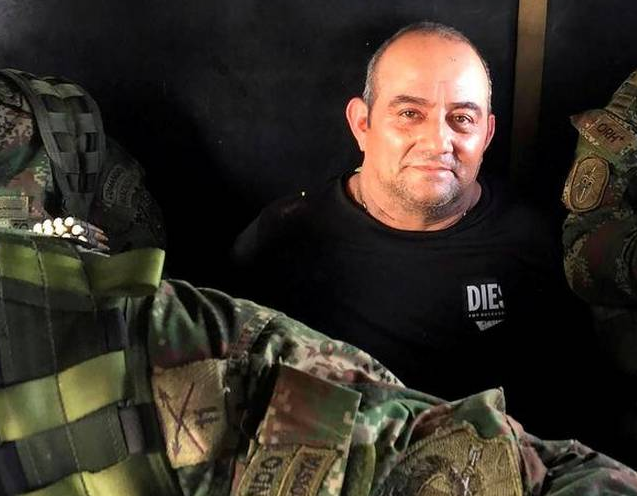 How Was Colombia's Most Wanted Drug Lord Otoniel Caught?