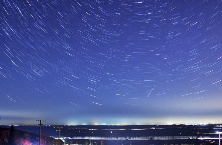 Quadrantid meteor shower 2017