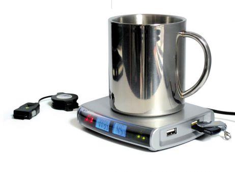 USB coffee warmer