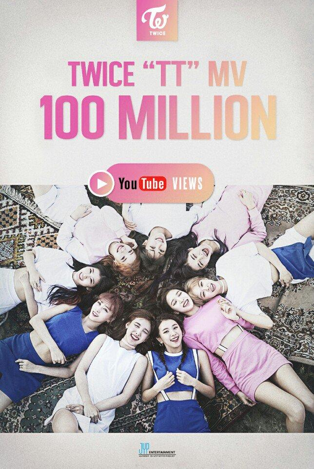 TWICE's TT Reaches 100 Million Hits