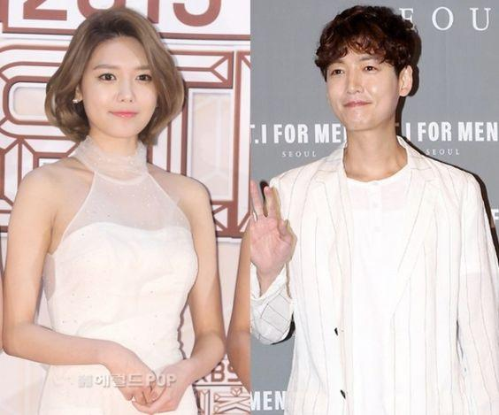 Sooyoung and Jung Kyung Ho