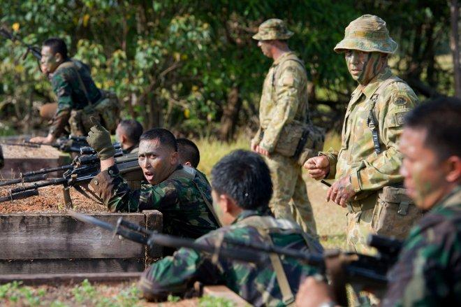 Australia denies spy programme derailed joint military training with Indonesia