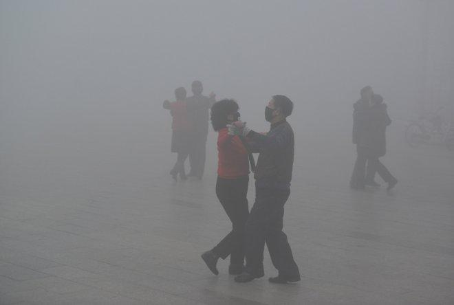 Living amidst the smog of China