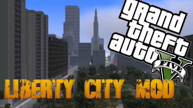 GTA 5 Liberty City Mod