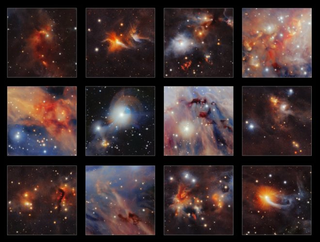 Orion collage
