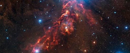 red ribbon of Orion