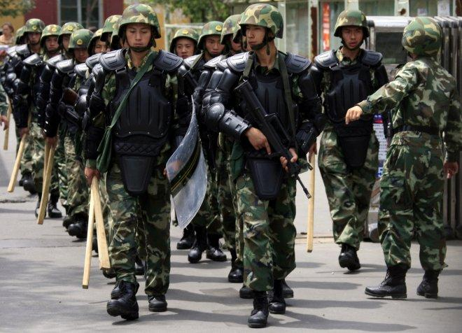 Chinese police shoot dead three terror suspects in Xinjiang