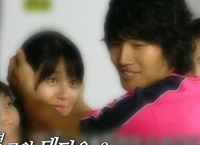 Yoon Eun Hye and Kim Jong Kook