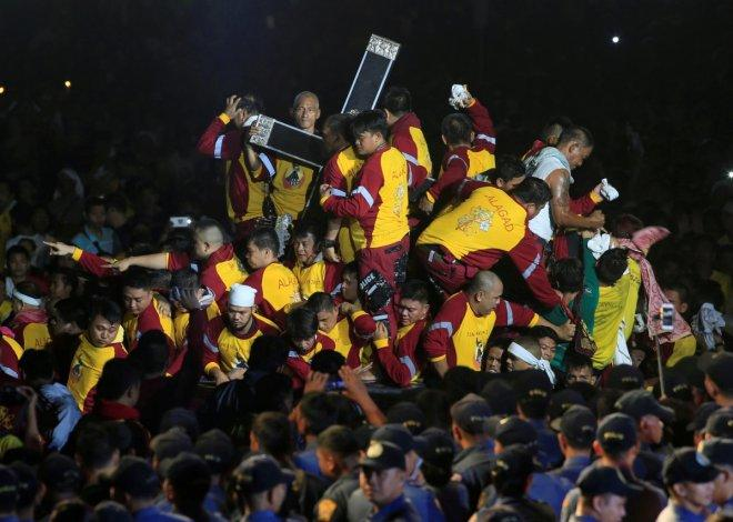 Millions of devotees in Philippines join Black Nazarene procession