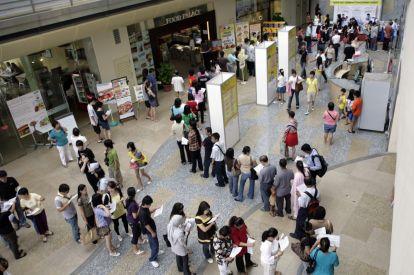 Singapore job market