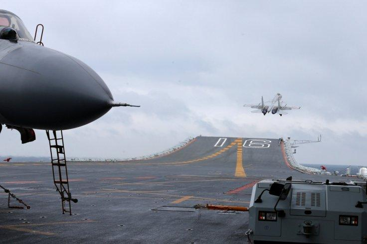 Taipei scrambles jets as Chinese aircraft carrier Liaoning enters Taiwan Strait