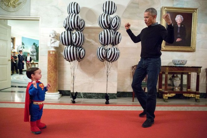 Incredible candid moments of Barack Obama