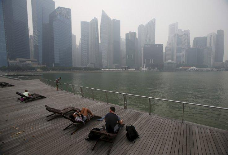 Haze from Indonesian fires cost Singapore S$700 million in 2015