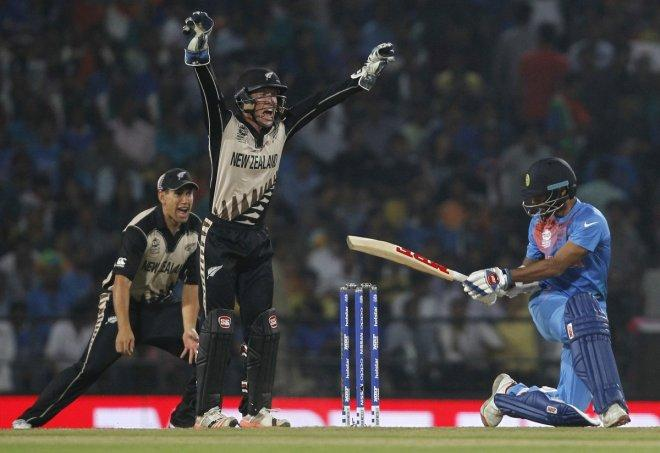 T20 world cup India lose to New Zealand
