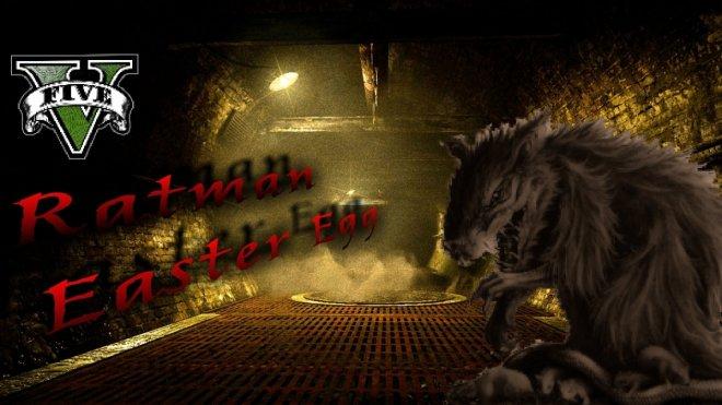 GTA 5 Ratman Easter Egg