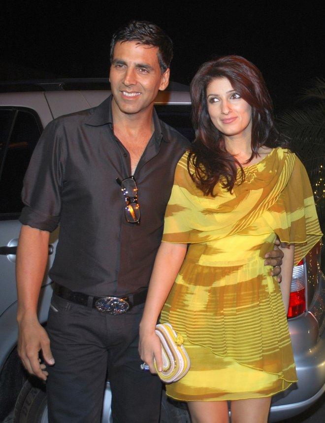 Akshay Kumar and Twinkle Khanna