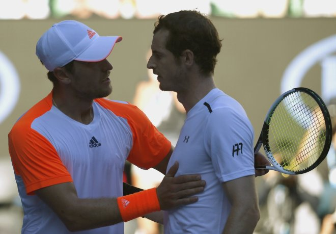 Mischa Zverev and Andy Murray