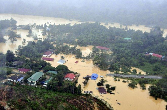 More than 2,000 people affected by Johor floods, thousands evacuated