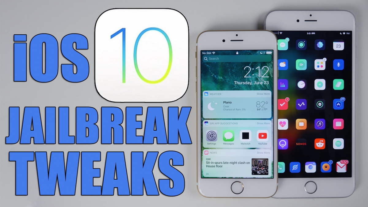 tweaks para iphone con jailbreak