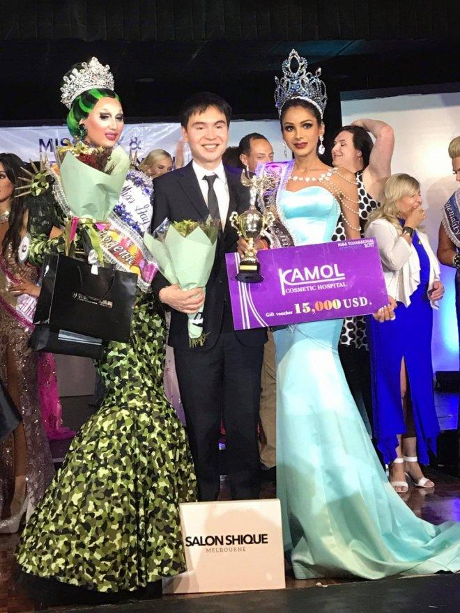 Malaysian crowned as Miss Transsexual Australia 2017