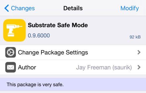 Yalu iOS 10 jailbreak: Cydia Substrate Safe Mode v0.9.6000 released