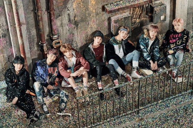 BTS release images of 'You Never Walk Alone' album photoshoot