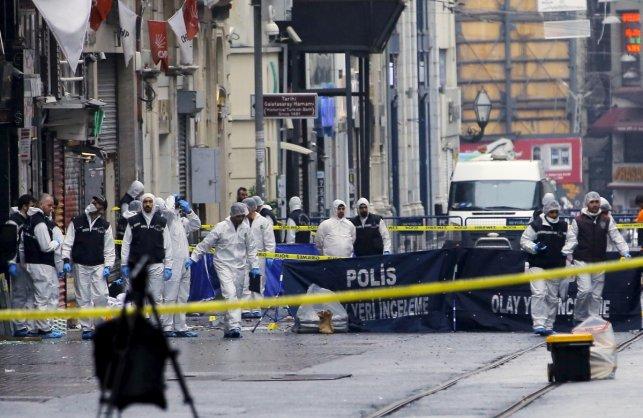 Turkey suicide blast kills four; 11 Israelis among injured
