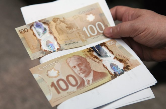 Canadian dollar notes