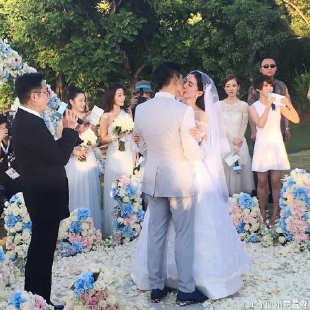 Nicky Wu and Cecilia Liu Shishi's wedding