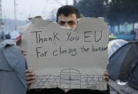 EU border closing in macedonia, greece