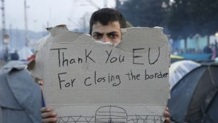 EU border closing in macedonia, greece