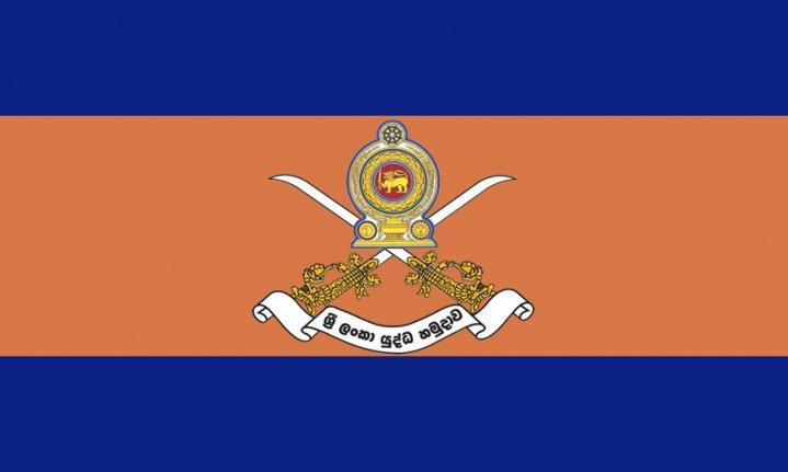 Sri Lanka Army flag