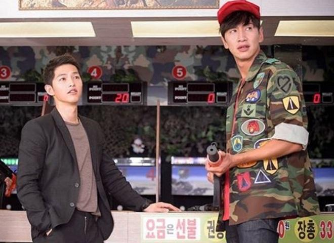 Song Joong-ki and Lee Kwang-soo