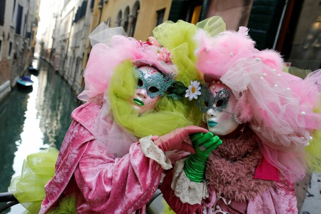 Venetian Carnival in Venice