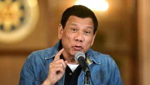 President Duterte says he will resign if Philippine senator proves allegations of illegal wealth