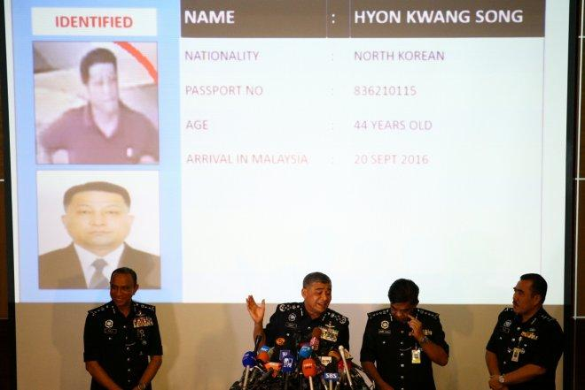 Kim Jong Nam murder: Police says chemical weapon VX nerve agent used in killing