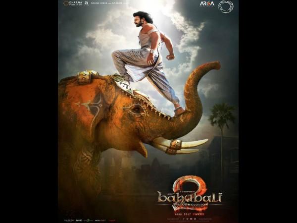Baahubali 2 motion poster