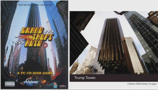 Grand Theft Auto Trump Tower
