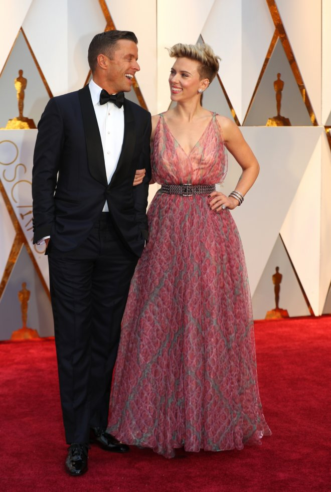 Oscars red carpet