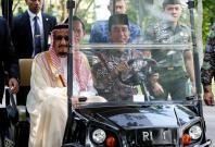 King Salman extends Indonesia tour: 45 trucks to transport Saudi King's luggage during Bali holiday