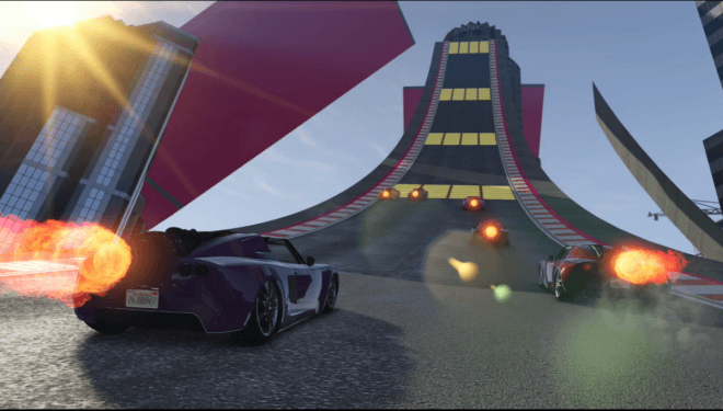 GTA 5 Online: Yellow props or the speed boosters