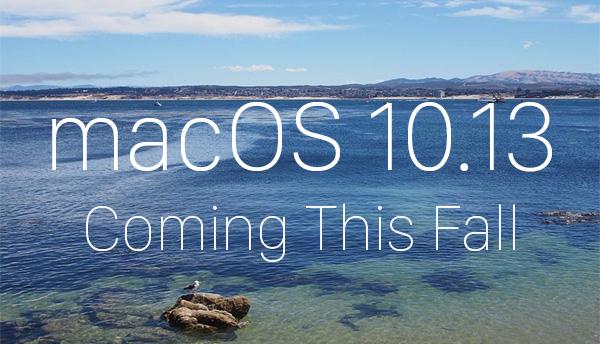 macOS Sierra 10.13