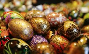 easter eggs, symbol of rebirth