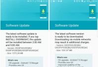 Galaxy S6/S6 Edge Android 7.0 Nougat update