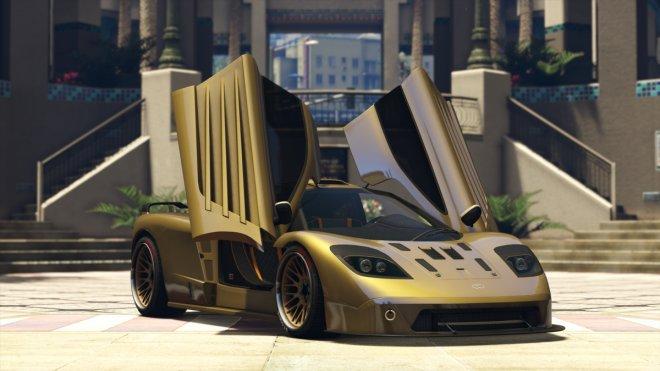 GTA 5 Online: Progen GP1 supercar